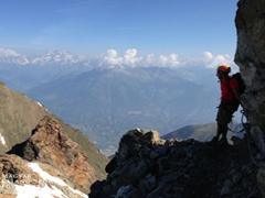 Monte Emilius via ferrata (3559 m)